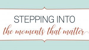 Executive and life coach, Regan Walsh, talks about moments that matter